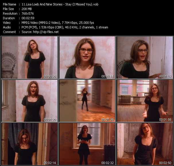 Lisa Loeb And Nine Stories «Stay (I Missed You)» VOB File