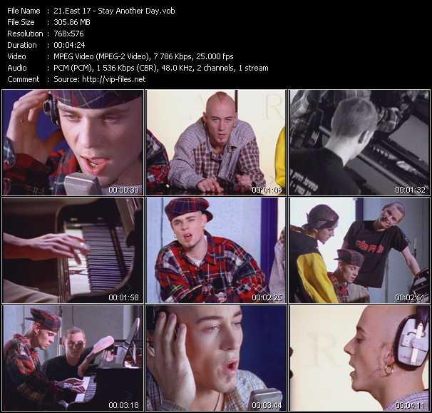 East 17 (E-17) music video Publish2
