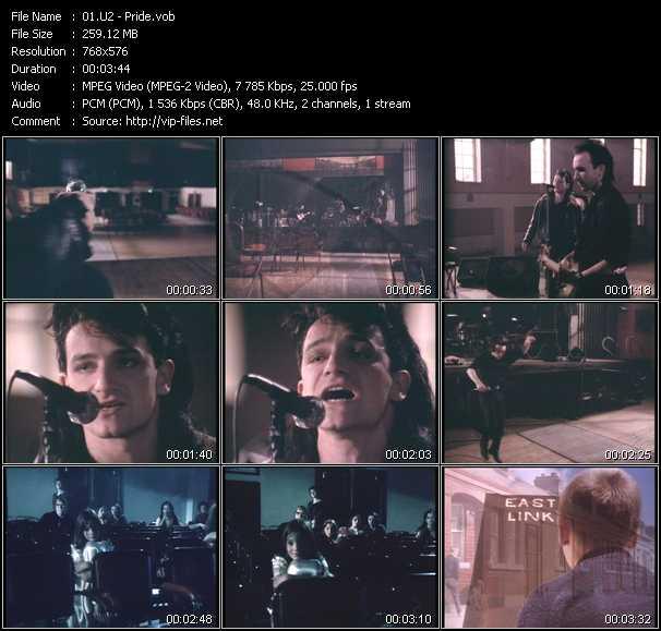 U2 video - Pride