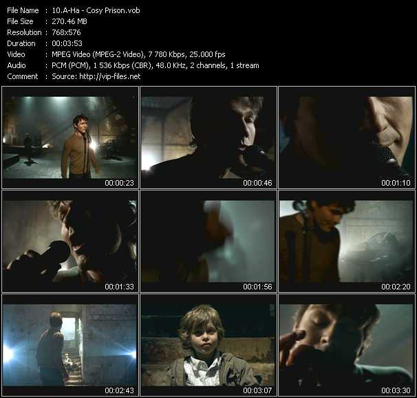 A-Ha video - Cosy Prison