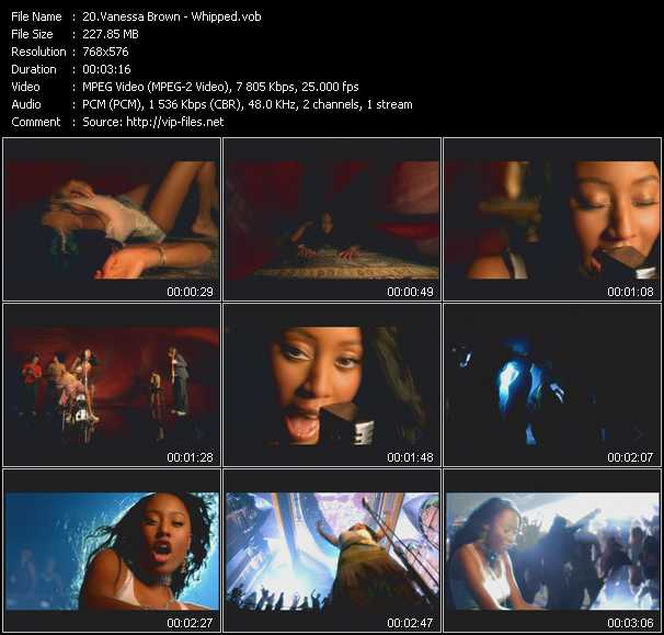 Vanessa Brown (VV Brown) video - Whipped