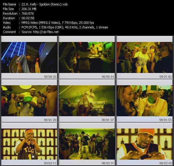 R. Kelly music video Publish2