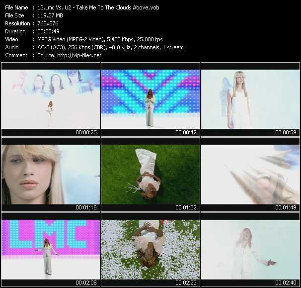 Lmc Vs. U2 video - Take Me To The Clouds Above