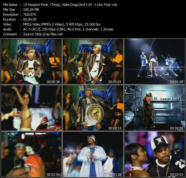 Houston Feat. Chingy, Nate Dogg And I-20 video - I Like That