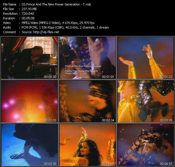 Prince And The New Power Generation video - 7