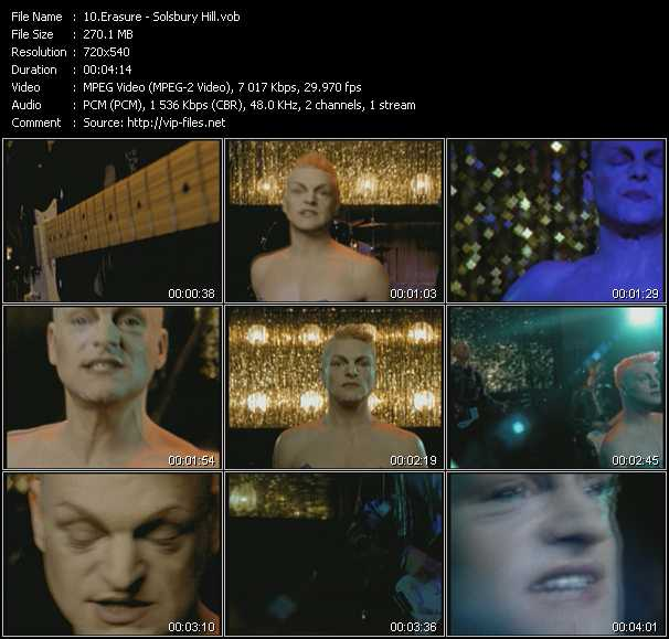Erasure video - Solsbury Hill