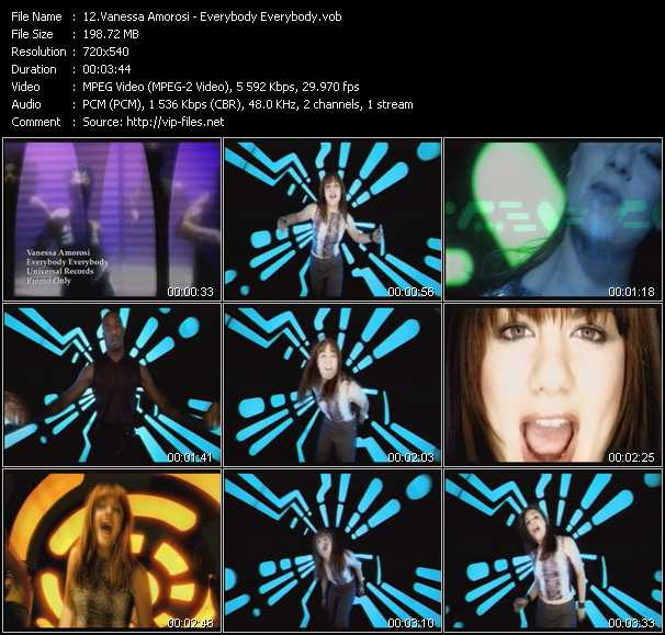 Vanessa Amorosi music video Publish2