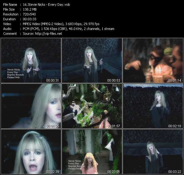 Stevie Nicks video - Every Day