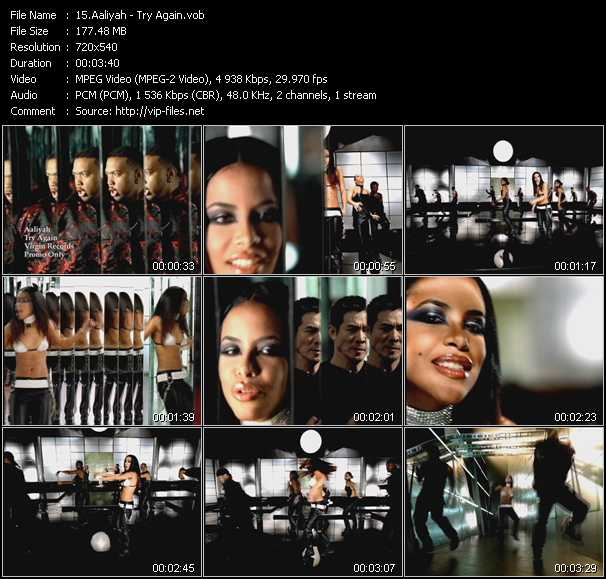 Aaliyah video - Try Again