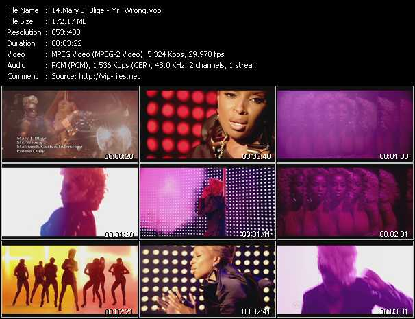 Mary J. Blige video - Mr. Wrong