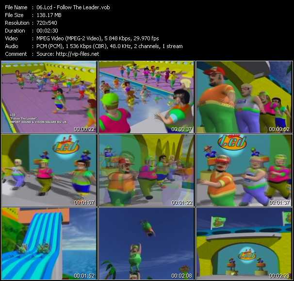 Lcd «Follow The Leader» VOB File on utep yell leader, choosing to follow a leader, follow leader cartoon, follow your leader, i am your leader, follow us on twitter, disney peter pan lost boys leader, take me to your leader,