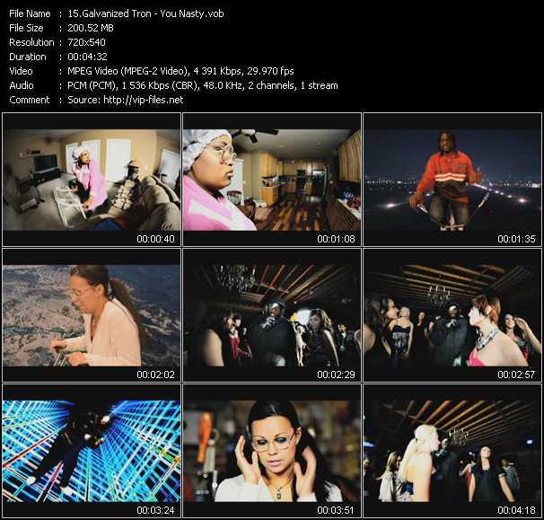 Galvanized Tron music video Publish2