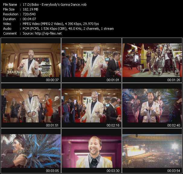 Dj Bobo video - Everybody's Gonna Dance