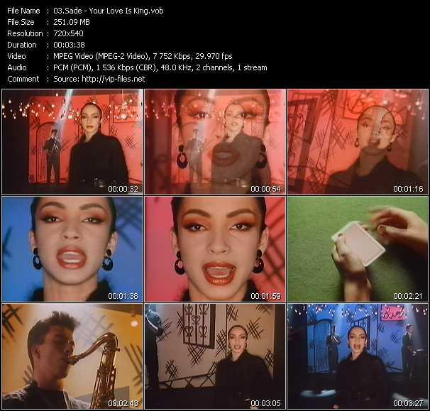 Sade music video Publish2