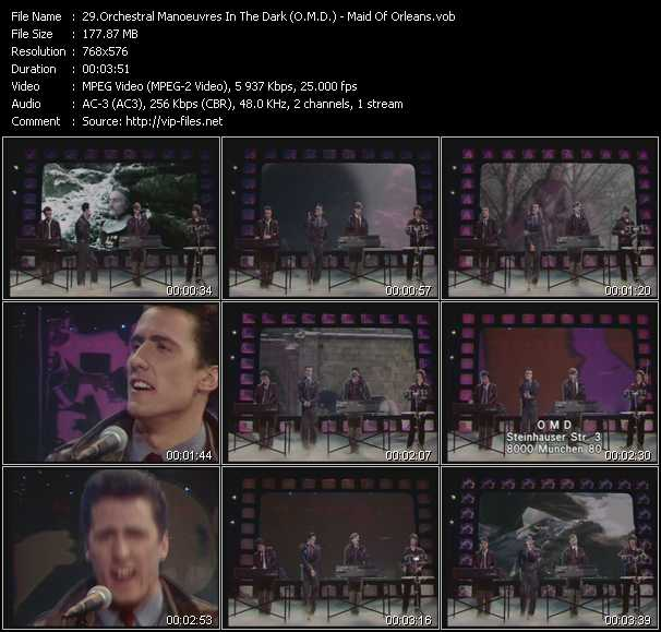 O.M.D. (Orchestral Manoeuvres In The Dark) video - Maid Of Orleans