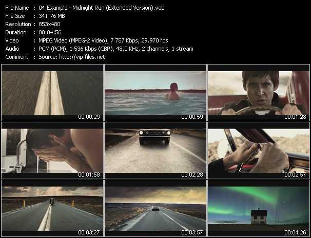 Example video - Midnight Run (Extended Version)