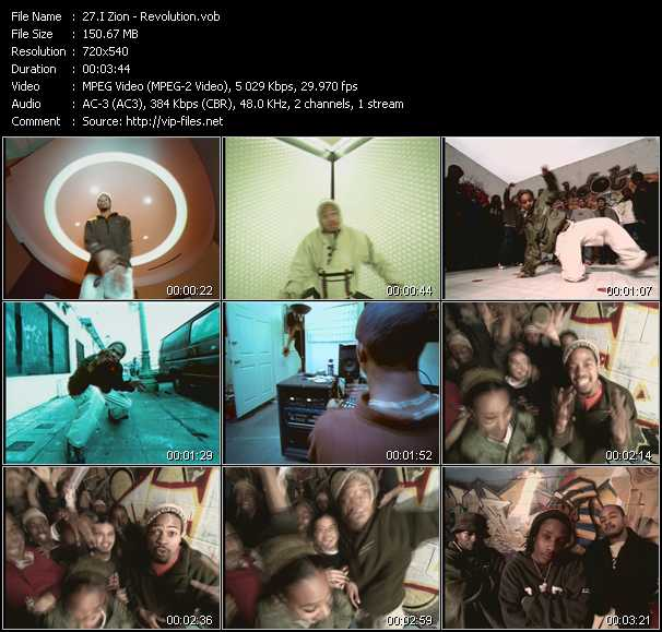 I Zion music video Publish2