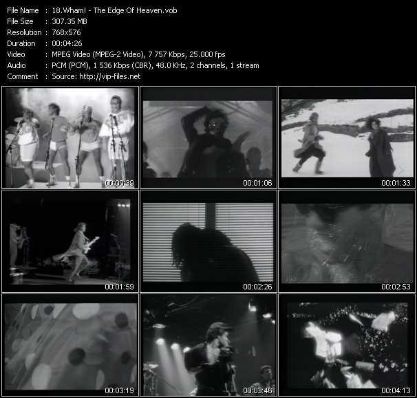 Wham! video - The Edge Of Heaven