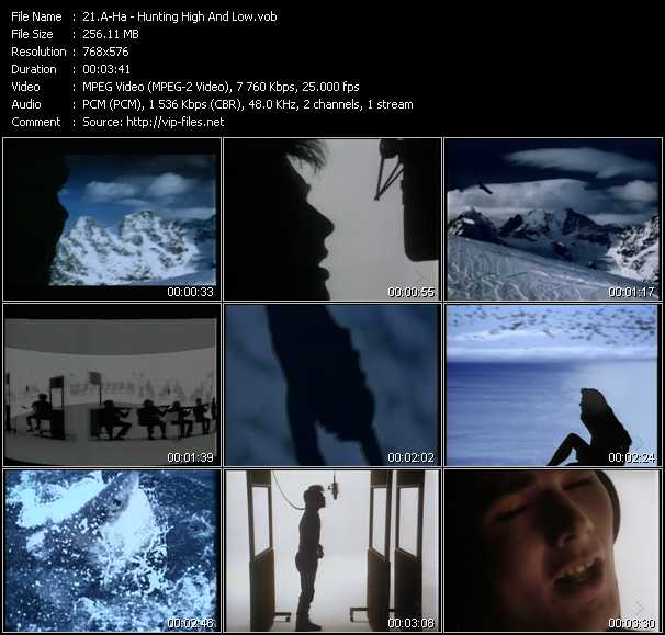 A-Ha music video Fboom