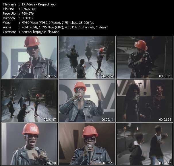 Adeva music video Fboom