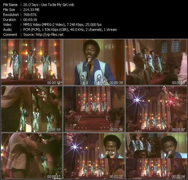 O'Jays video - Use Ta Be My Girl