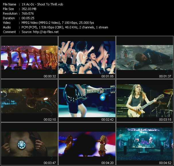 Ac-Dc video - Shoot To Thrill
