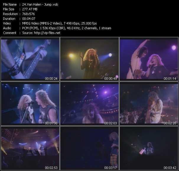 Van Halen video - Jump