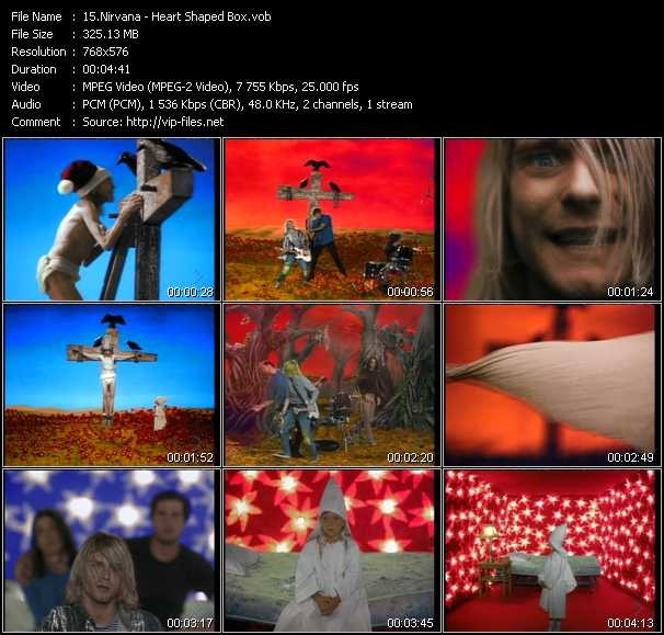 Nirvana video - Heart Shaped Box