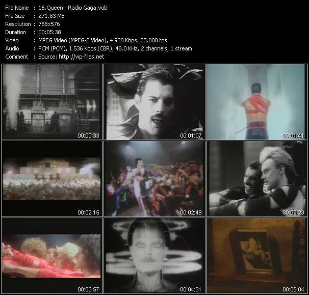 Queen video - Radio Ga Ga