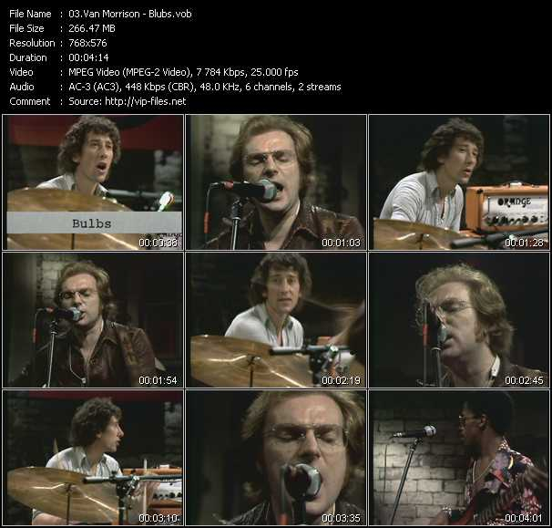 Van Morrison video - Blubs (From Musikladen)