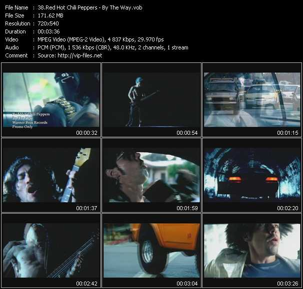 Red Hot Chili Peppers video - By The Way