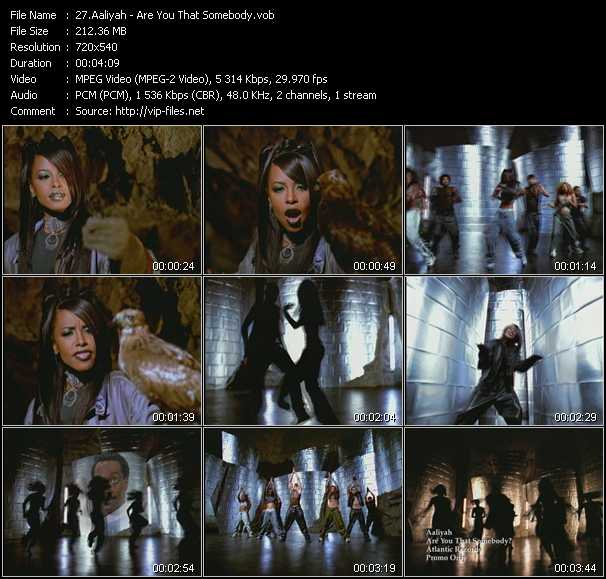 Aaliyah video - Are You That Somebody?
