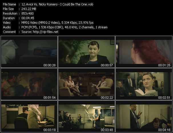 Avicii Vs. Nicky Romero video - I Could Be The One