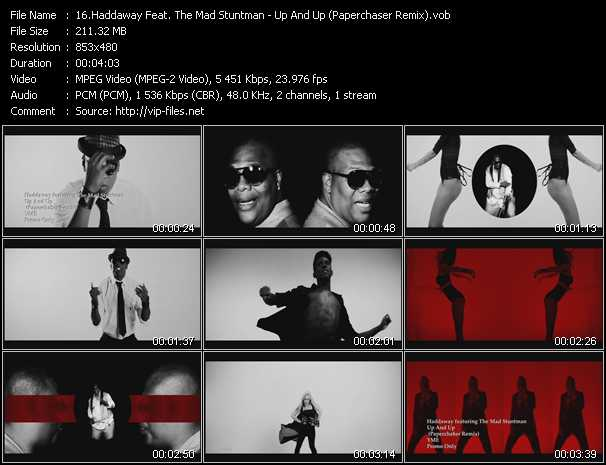 Haddaway Feat. The Mad Stuntman video - Up And Up (Paperchaser Remix)