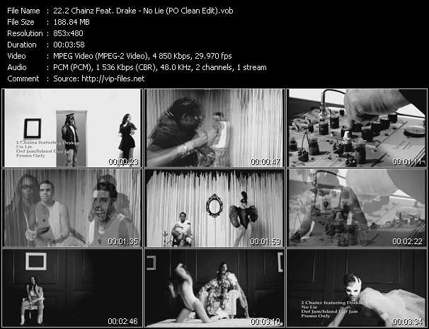 2 Chainz Feat. Drake video - No Lie (PO Clean Edit)