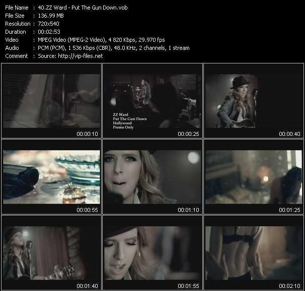 ZZ Ward music video Publish2