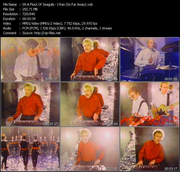 A Flock Of Seagulls music video Novafile