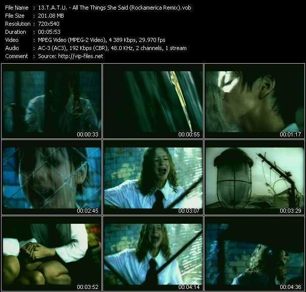 T.A.T.U. music video Publish2