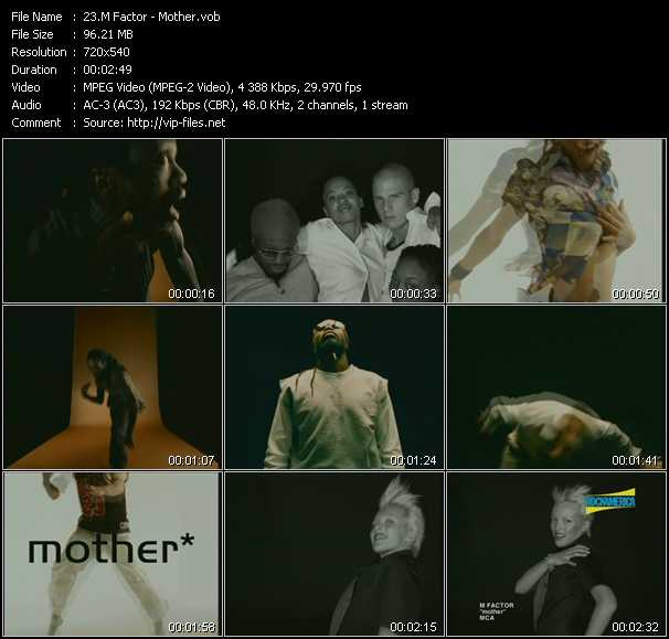 M Factor video - Mother