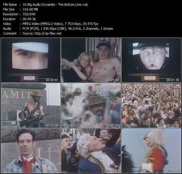 Big Audio Dynamite video - The Bottom Line